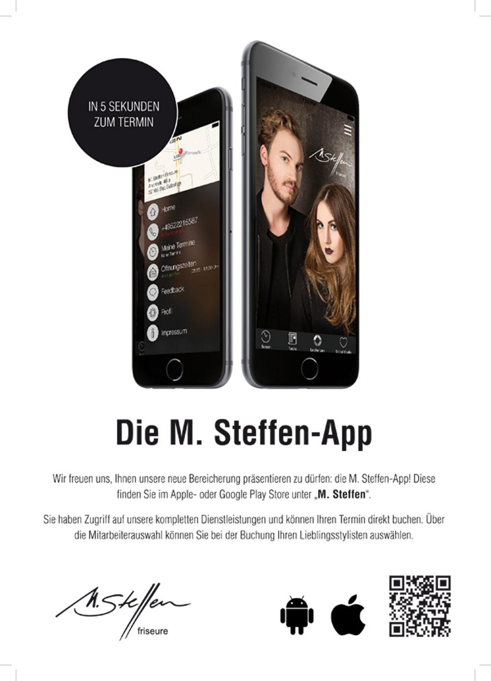 M. Steffen Friseure - APP